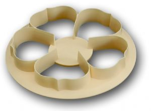 5 Petal Rose Cutter 50mm